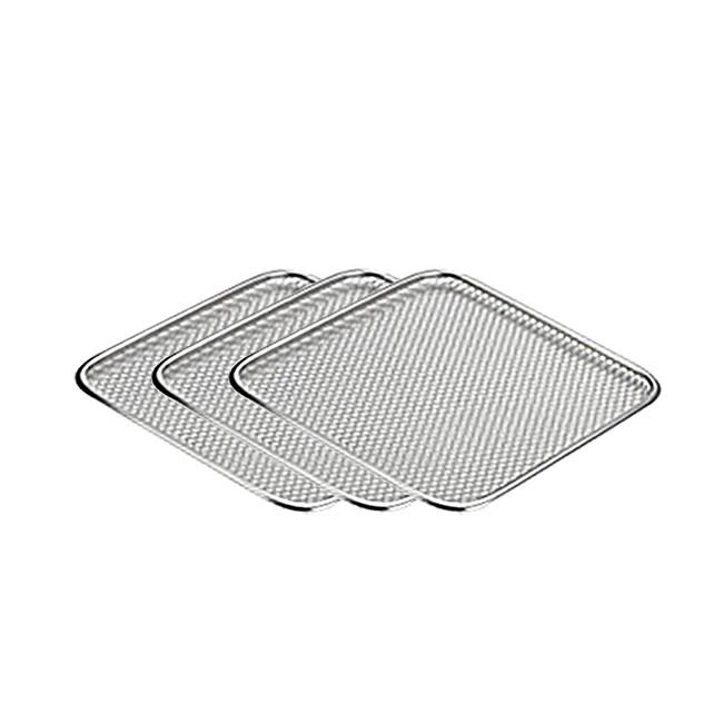 氣炸烤箱 不鏽鋼烘烤網 3入 適用於AOC艾德蒙、EDISON愛迪生 、 安晴、Copper(K0066-1)
