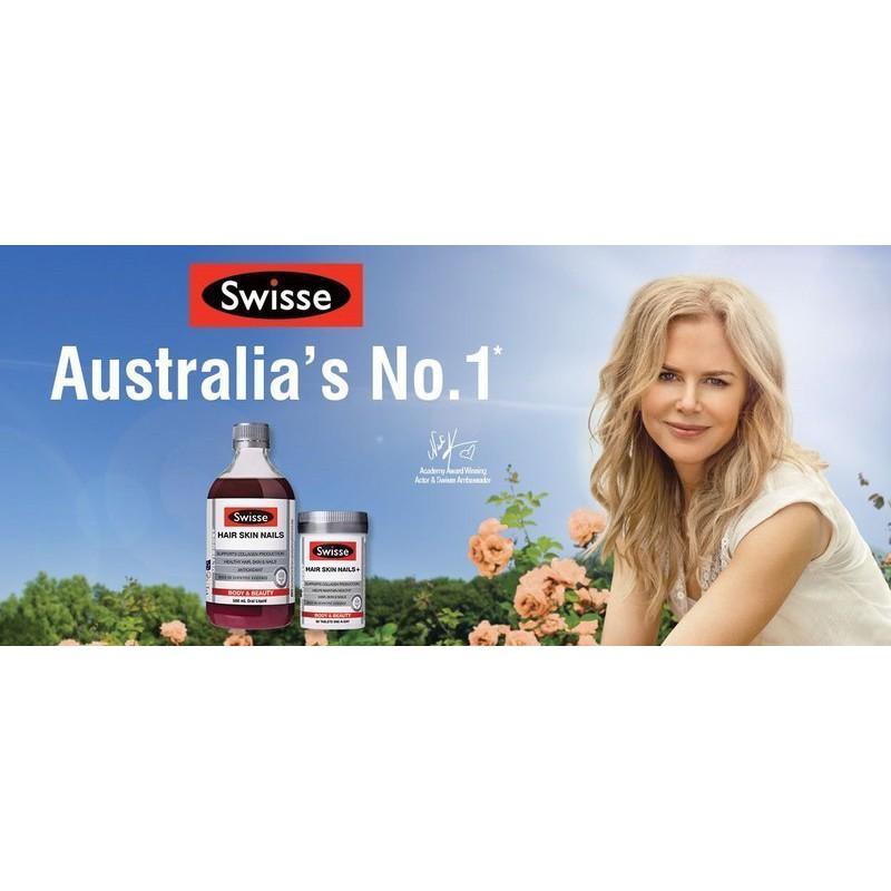 澳洲 Swisse Hair Skin Nails+ 膠原蛋白錠 60顆 (尼可基曼代言)