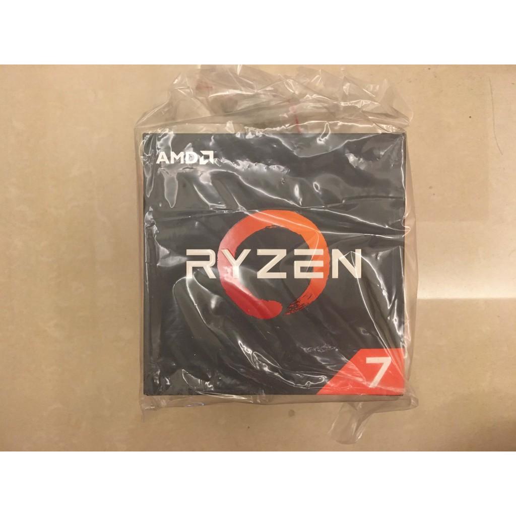 【已賣完】AMD Ryzen 7 2700X盒裝-8C16T-PCIe 3.0(福利品)--現在沒貨