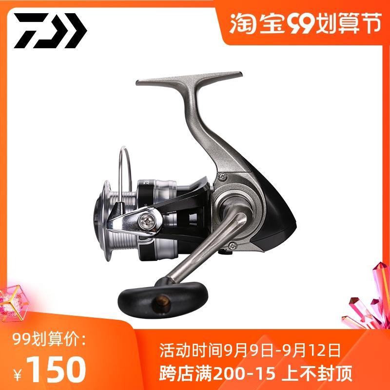 微物路亞 軸磯竿輪 路亞輪 海竿輪DAIWA達億瓦 日本進口達瓦紡車輪微物漁輪1000磯釣路亞海釣魚線輪