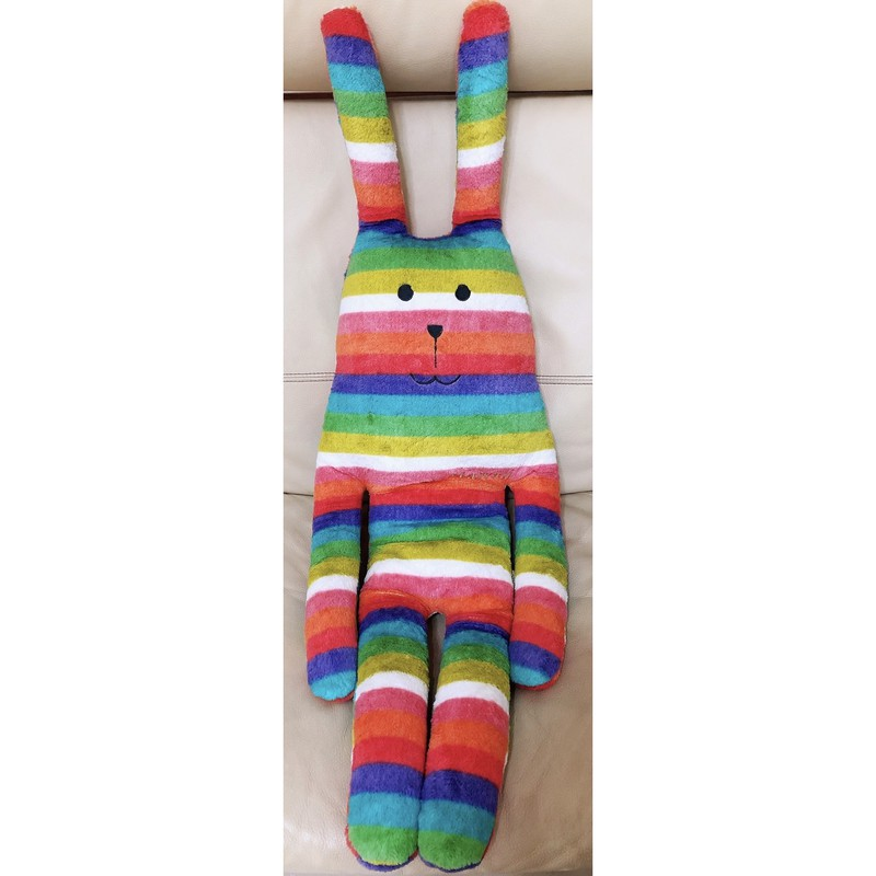 CRAFTHOLIC 宇宙人 夏威夷彩虹兔 大抱枕