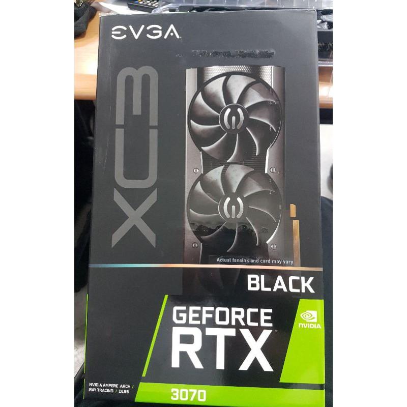 EVGA RTX3070 XC3 BLACK RTX 3070 顯示卡