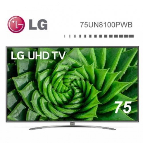 LG 樂金 75UN8100PWB 75型 4K IPS直下式 物聯網電視 75吋 (75UN8100) 私訊議價
