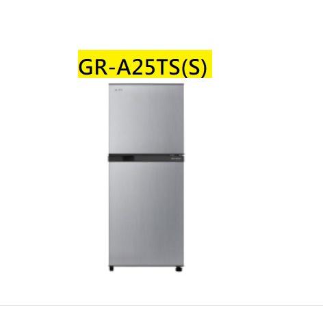 【胖胖3C】TOSHIBA 東芝 192公升一級能效變頻電冰箱GR-A25TS(S)