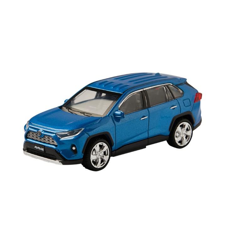 TOYOTA豐田原廠 RAV4 1:43 合金汽車模型車 聲光迴力車 玩具車 休旅車