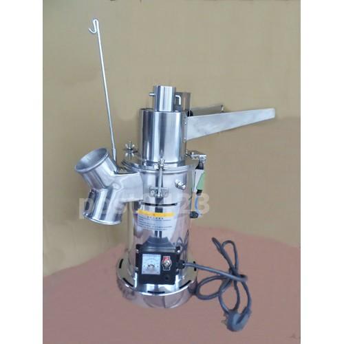 連投式粉碎機續投料磨細打粉機 連投料磨粉機超細不鏽鋼打粉機