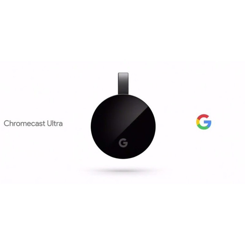 Google Chromecast Ultra 電視棒 4K UHD HDMI 電視棒 新版第三代(二手)
