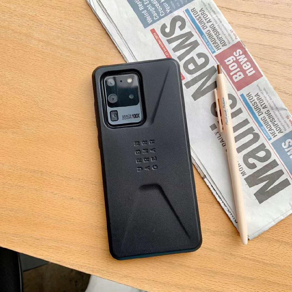 手機殼UAG 抗衝擊防摔殼三星Note 20 Ultra note20+ plus S20+ UAG陨石素色保護殼手機殼