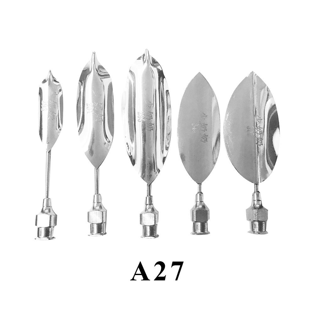 優果《越南進口不鏽鋼果凍花針A27》每組內含5支針