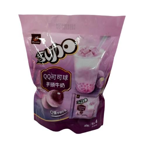 77 乳加QQ可可球-160g(芋頭牛奶)[大買家]