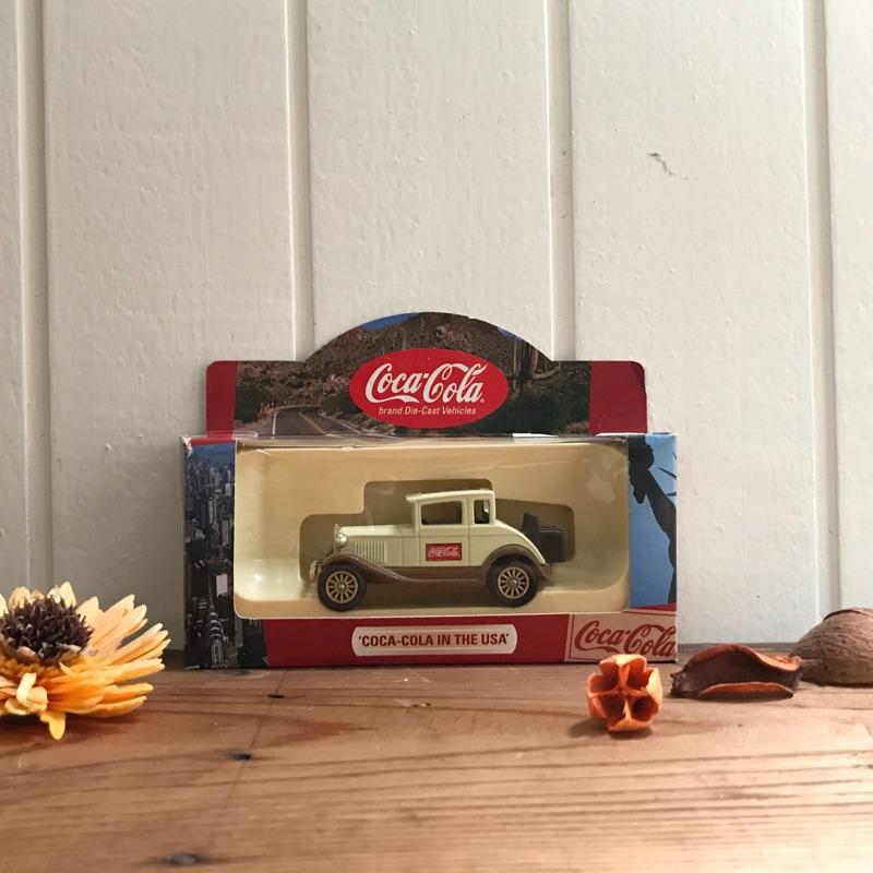 早期英國製絕版可口可樂企業品牌廣告行銷聯名古董玩具車 火柴車模型玩具 懷舊童玩 老件收藏