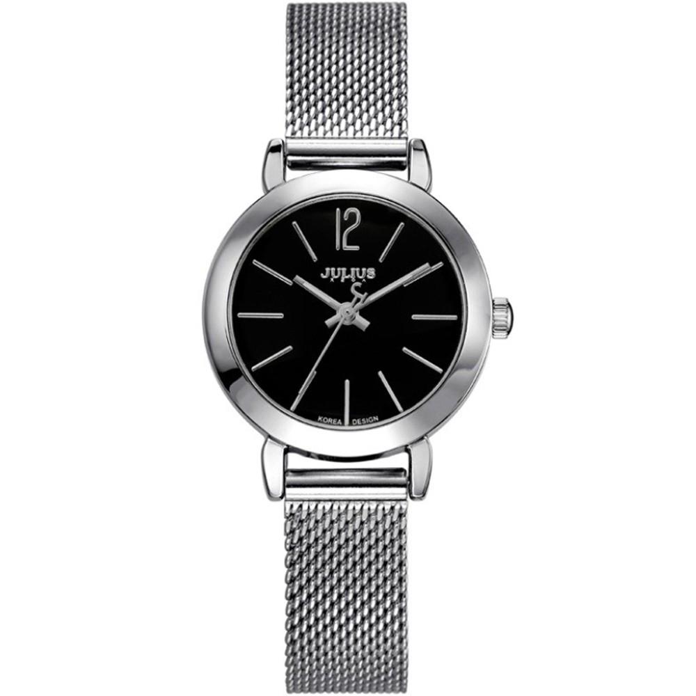 JULIUS聚利時 午後紐約米蘭帶手錶 (28mm)二色