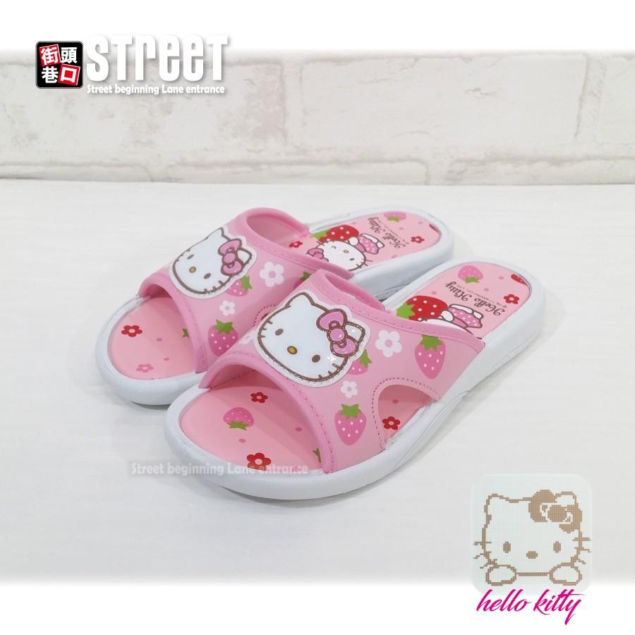 hello kitty 拖鞋 中大童鞋 厚底鞋【街頭巷口】小P孩寶貝城 KT817934-F