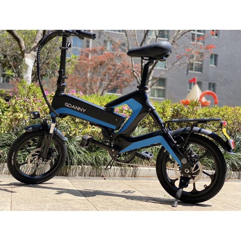 【現貨9.9特卖】德國GDANNY K6  電動自行車折疊鋰電池電瓶車代步助力電單車超輕電動車 折疊車