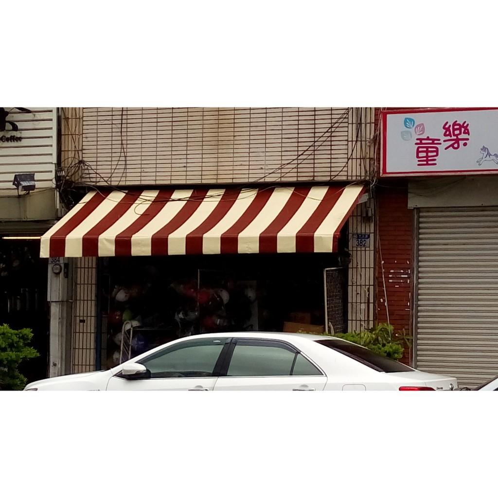 伸縮遮雨棚,手動伸縮,店面住家。各種顏色可選,價格實惠。藍天帆布 帆布的專家