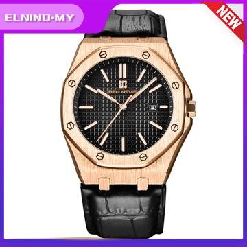 Ben Nevis 新款三手日曆石英表防水商務運動男士手錶