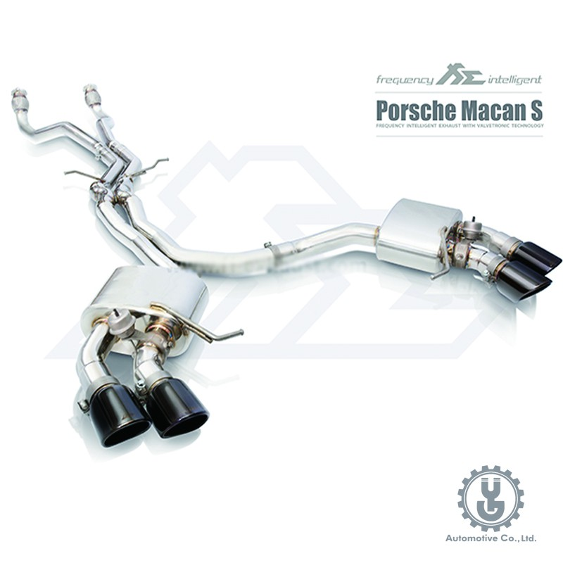 FI 高流量帶三元催化頭段 當派 排氣管 Porsche Macan S 2014+ 底盤【YGAUTO】