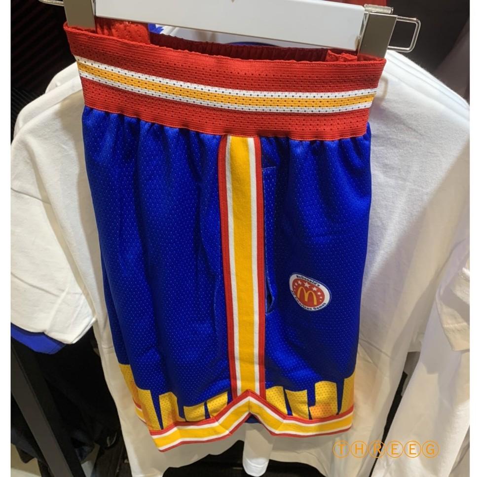 ⓉⒽⓇⒺⒺⒼ🔥7折⚡ADIDAS x McDonald 麥當勞 薯條 雙面穿 籃球短褲 明星賽 男款 H16550