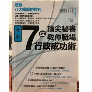 7位頂尖秘書教你職場行政成功術 臺南市