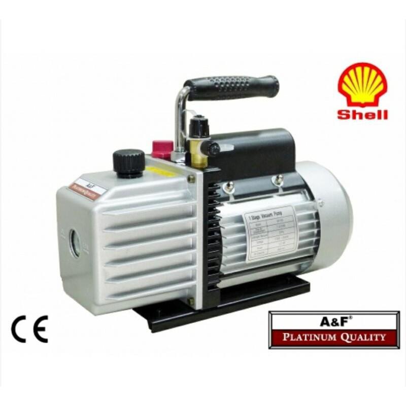 A&F 1/2HP高效能真空泵 真空幫浦 抽真空 AFVAC1D050 內建真空逆止功能 美國殼牌幫浦油-【便利網】