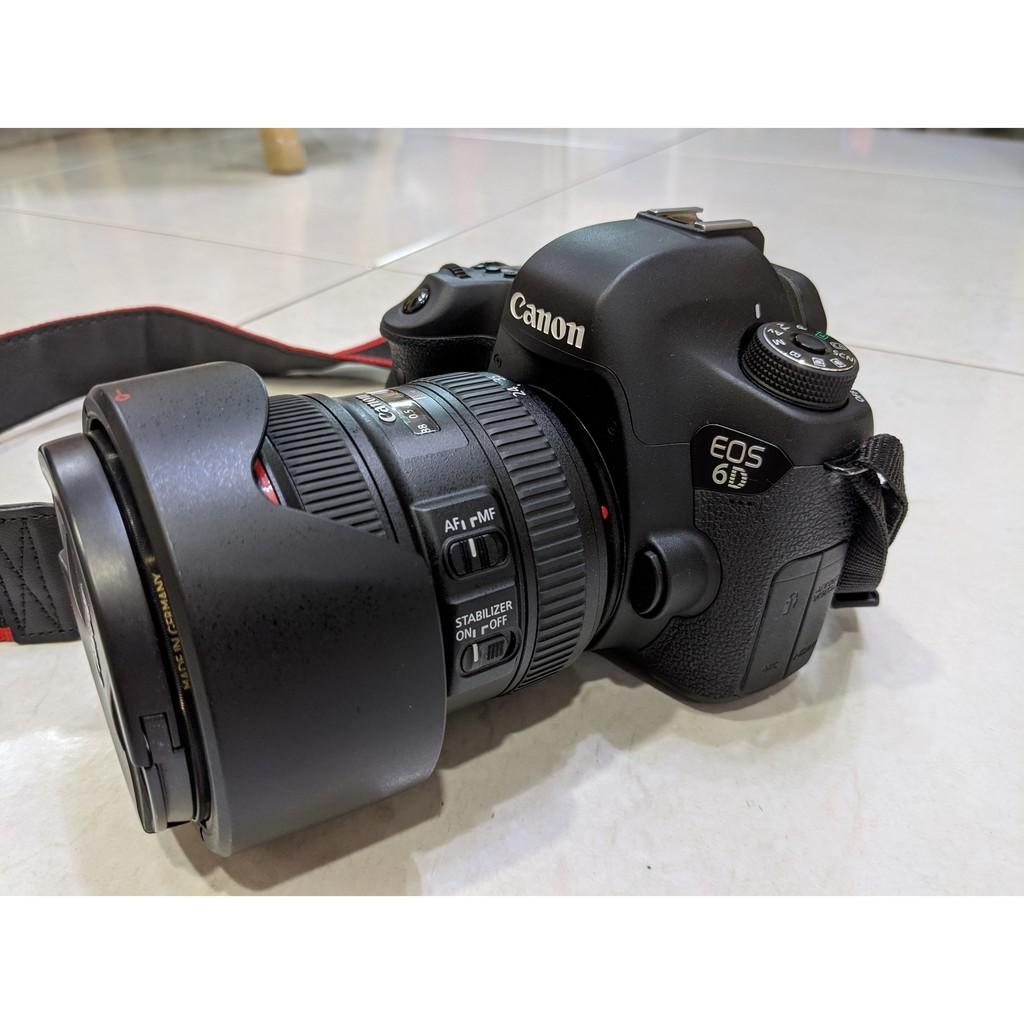 全片幅 Canon 6D 二手近全新 / 24-70 mm F4 L 二手近全新 / 17-40mm F4 L 小三元