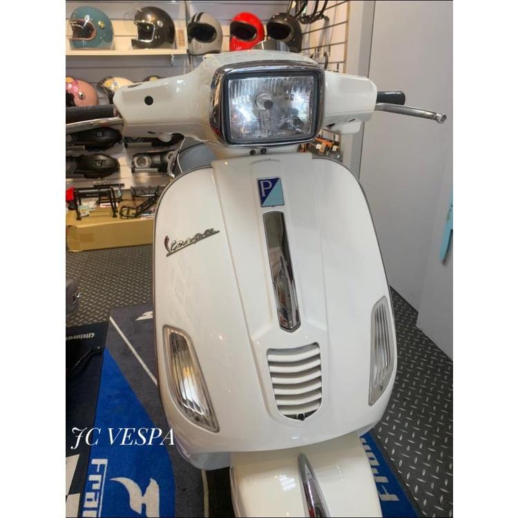 【嘉晟偉士】二手車 VESPA 偉士牌 S150 白色 極少見的義大利原廠150CC (正常通勤痕跡)