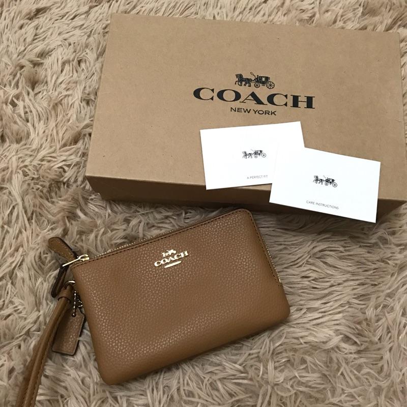 Coach小雙層手拿包