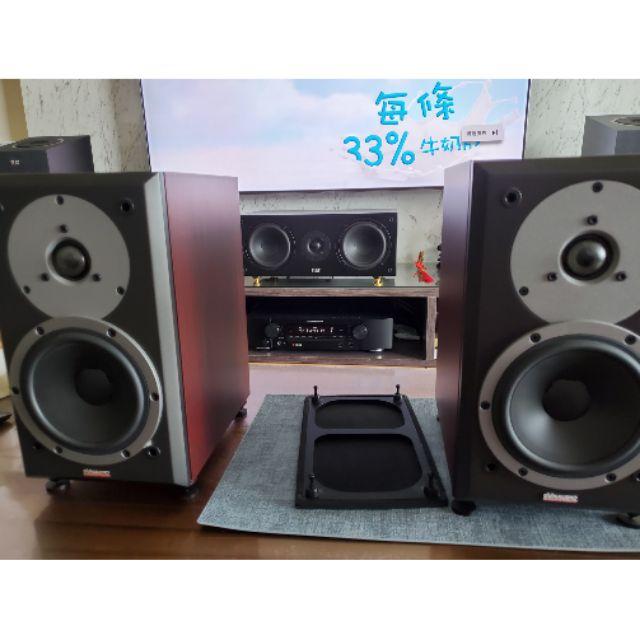 dynaudio  DM 2/6 書架型喇叭 九成新以上