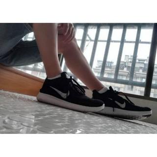 Nike Free RN Flyknit 黑白 雪花 全黑 針織 赤足 5.0 編織 男女 慢跑 831069-001 台中市