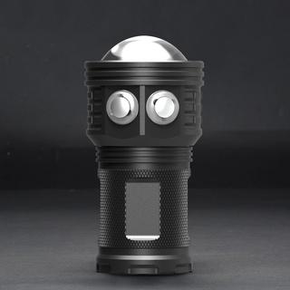 ☼500W專業潛水攝影手電筒LED水下照明補光燈80m深度潛水 IPX8 COB多功能潛水手電筒