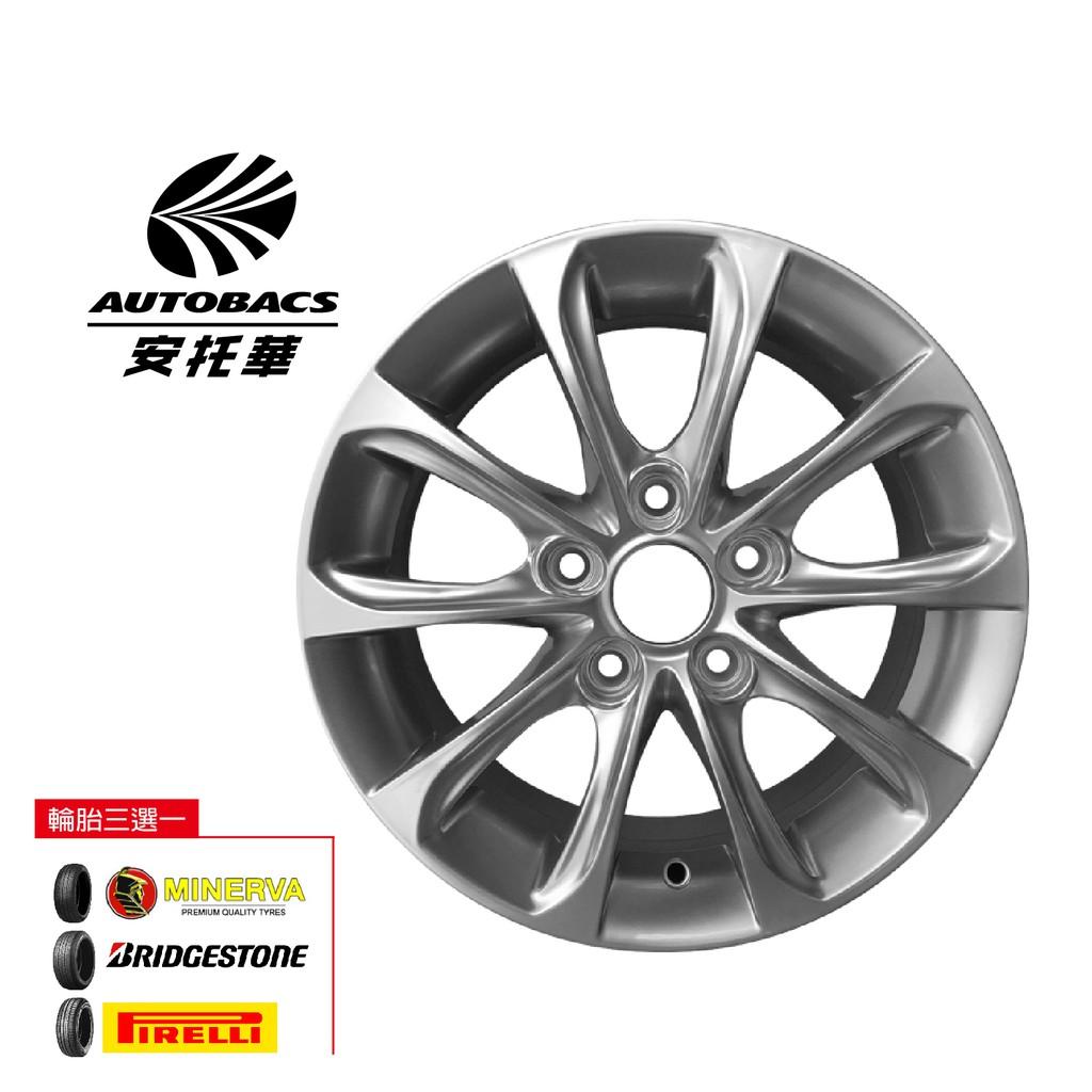 S418 鋁圈 16吋/5孔114/7J/ET40 - 輪胎 205/60/16 四輪四圈組合/輪胎三選一