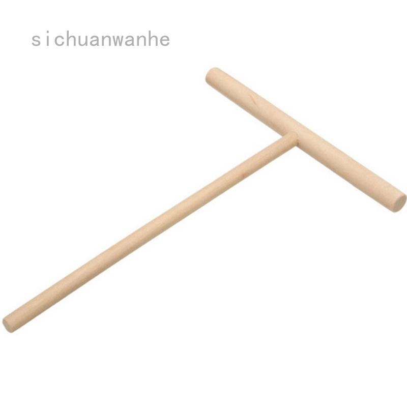 四川萬和可麗餅機煎餅麵糊木製撒佈棒家用廚房工具diy用品