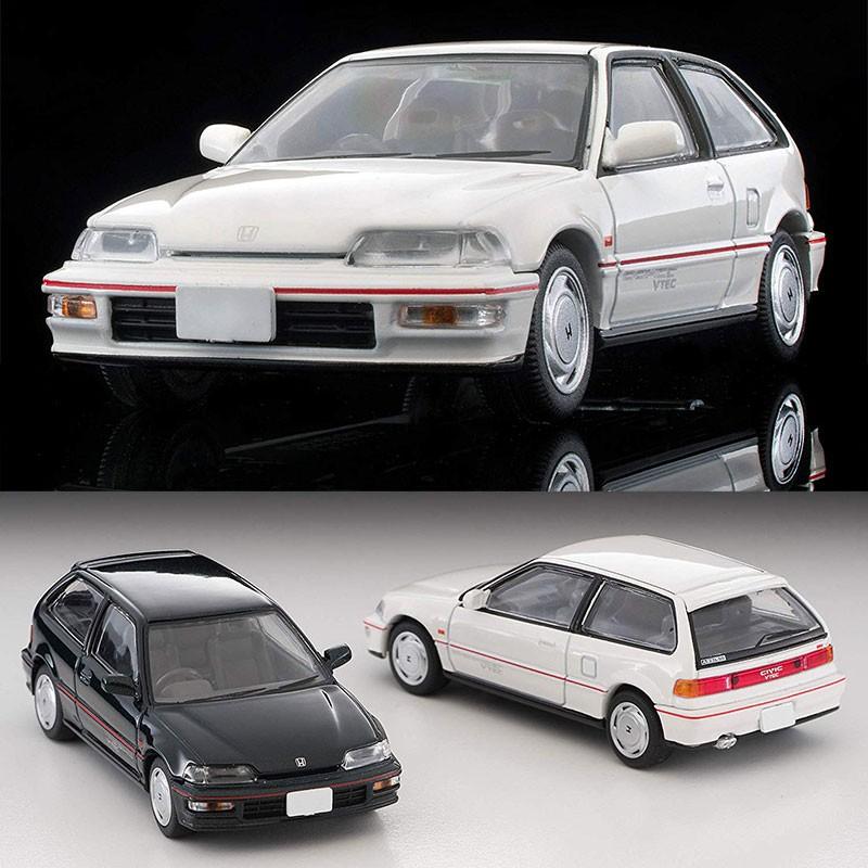 【ssz】TOMYTEC仿真車模型1:64合金車TLV日產Civic SiR-II-2 LV-N182 a b