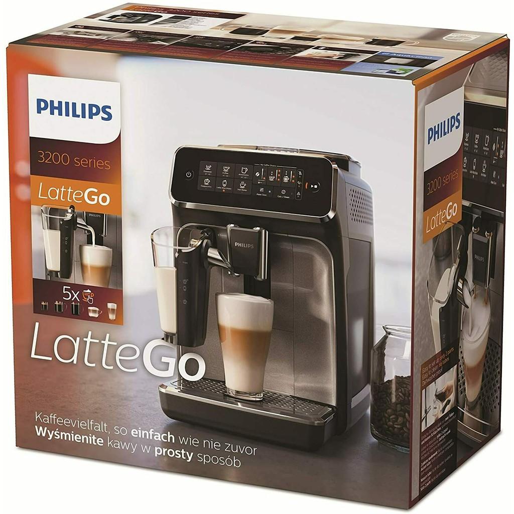 (百貨公司全新2年保固)Philips 飛利浦全自動義式咖啡機 EP3246(金色)EP5447(今年新機型)