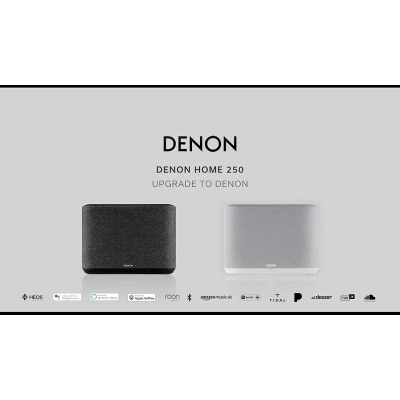 Denon home 250 apple  AirPlay 2 WiFi無線音樂串流播放、藍牙、內建USB