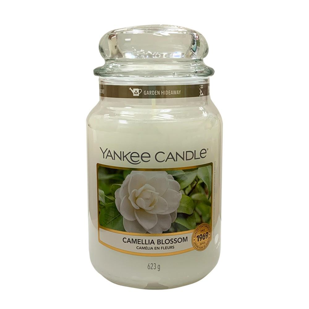 【YANKEE CANDLE】香氛蠟燭(623g)星空下的一個夜晚/ 盛開的山茶花/美夢成真