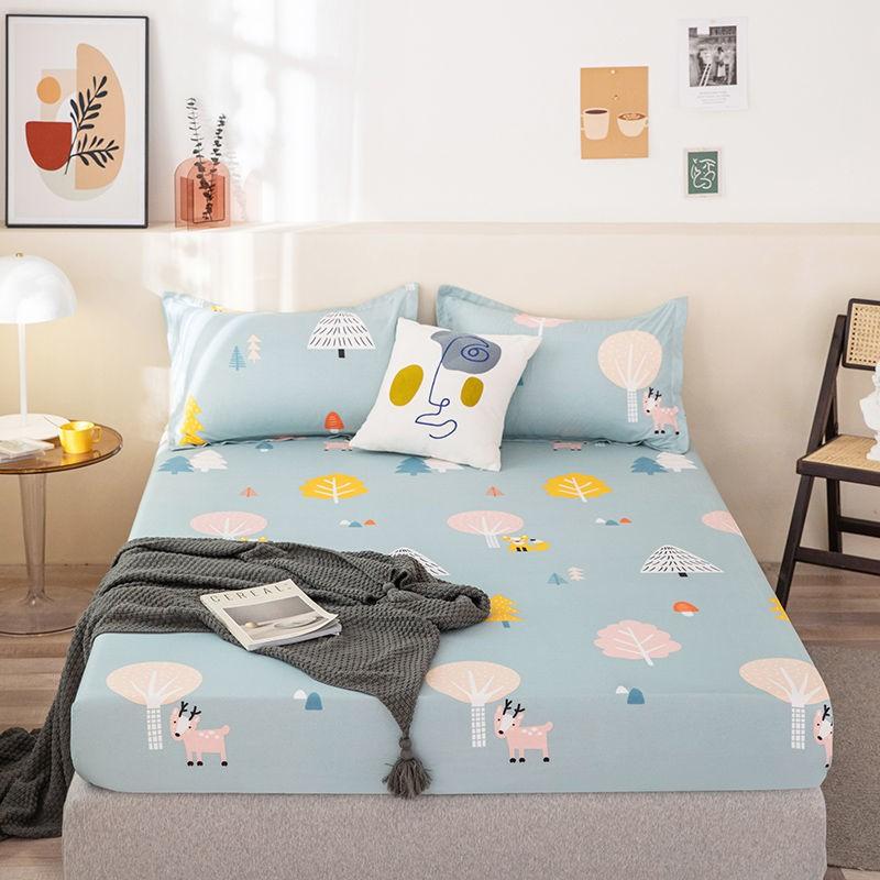活動價 品質好床笠床罩 單件 防水透氣防螨保潔墊 單人/雙人/加大 床包 防塵防滑固定床套罩 席夢思保護套 全包圍 床罩