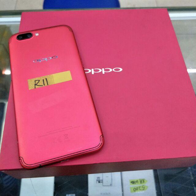 紅色限量版 OPPO R11 5.5吋 4+64GB 95新 中古手機 二手手機 超商取貨付款