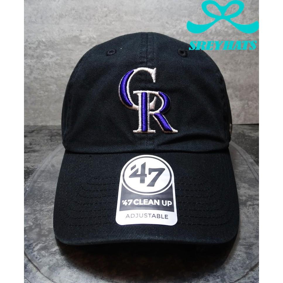 03c931303096  SREY帽屋 現貨☆47 Brand CLEAN UP MLB 洛杉磯道奇LA 黑白小LOGO 美國限定棒球帽老帽