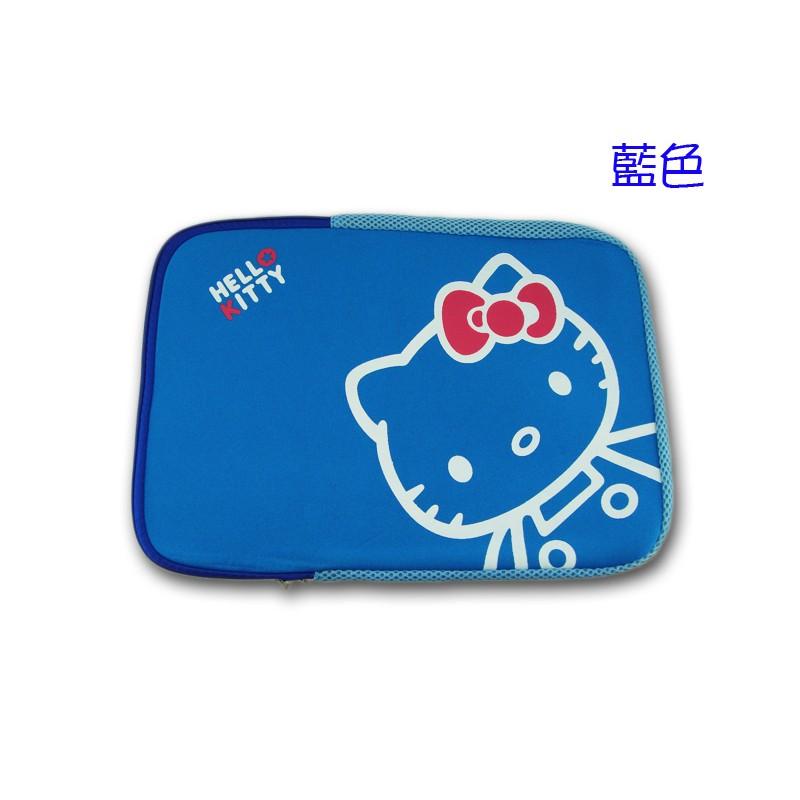 啪啪購《電腦配件 》 HELLO KITTY【14吋藍色 筆電 平板包內膽包 】 筆電保護套 避震袋  電腦包 筆電包
