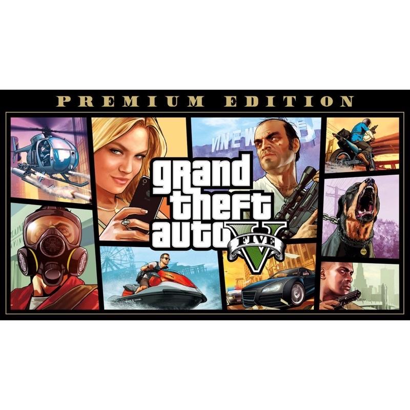 PC 俠盜獵車手5豪華版 GTA5 Grand Theft Auto V 數位版 Epic