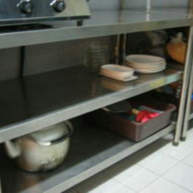 三層 304 不鏽鋼 工作台 工作檯