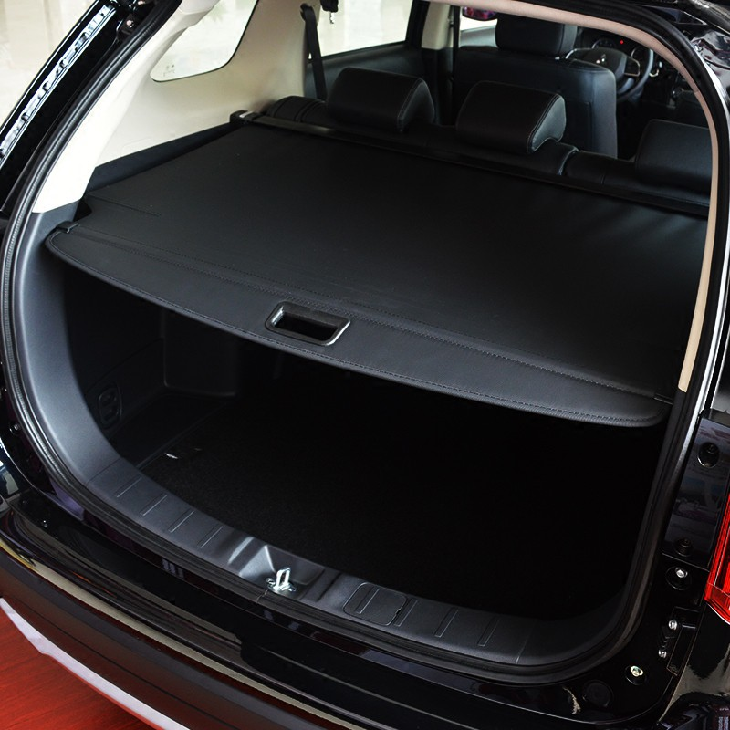 Mitsubishi~適用20款 Outlander 后備箱遮物簾19款Outlander 改裝配件后尾箱隔物板