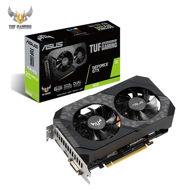 【現貨熱賣】🏆顯卡🏆華碩TUF-GeForce GTX1660SUPER-O6G-GAMING電競特工游戲專業顯卡