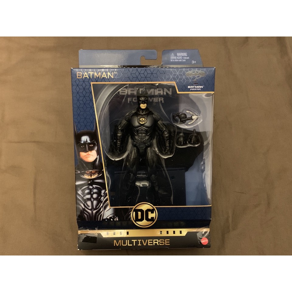 DC Multiverse 電影 蝙蝠俠3 6吋 蝙蝠俠 Batman 方基墨 布披風+底座(非 超人 水行俠 小丑)