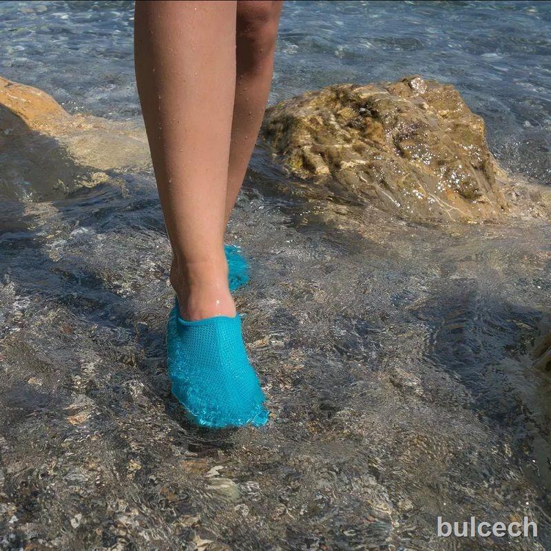 現貨✾❉∋迪卡儂沙灘鞋涉水鞋溯溪鞋潛水裝備浮潛鞋防滑防割游泳男女SUBEA1