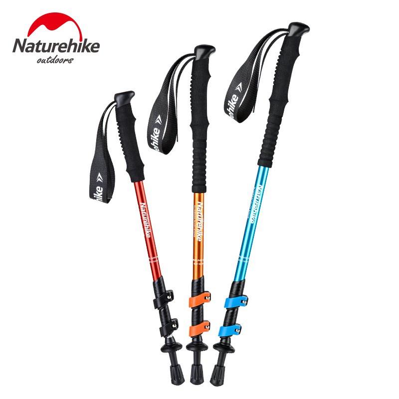 Naturehike挪客 登山杖 鋁合金 兒童登山杖 超輕 成人登山杖 徒步手杖 外鎖 伸縮手杖 爬山柺杖 登山手杖