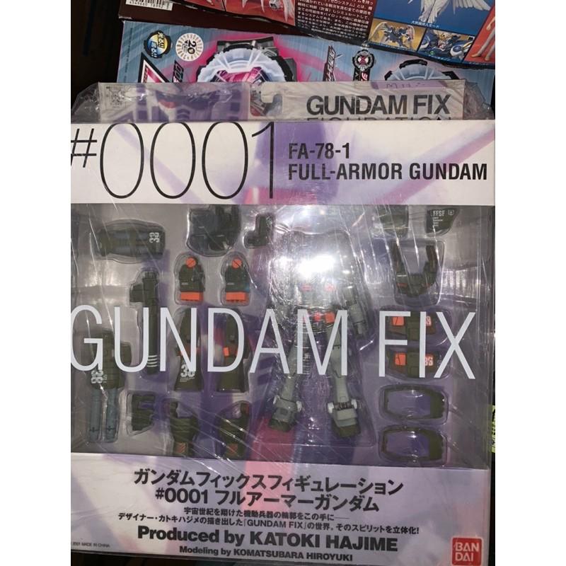 GFF #001 FA-78-1 Full Armor Gundam