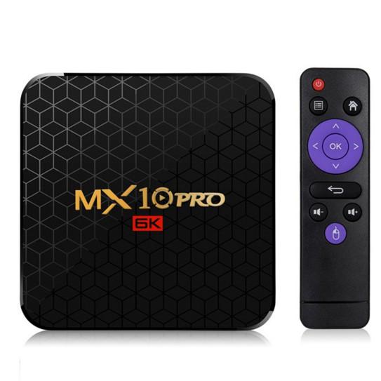 MX10 pro h603機上盒 4GB+64GB 安卓9.0 6K智慧型網路播放器 tvbox電視盒子19462
