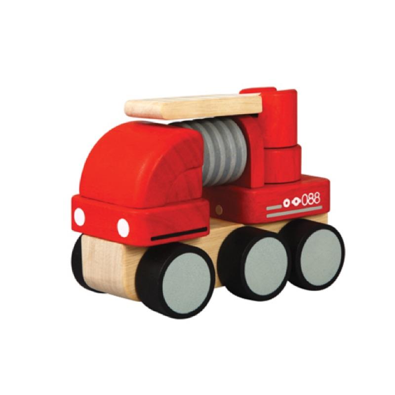 Plan Toys木質玩具 - 消防車